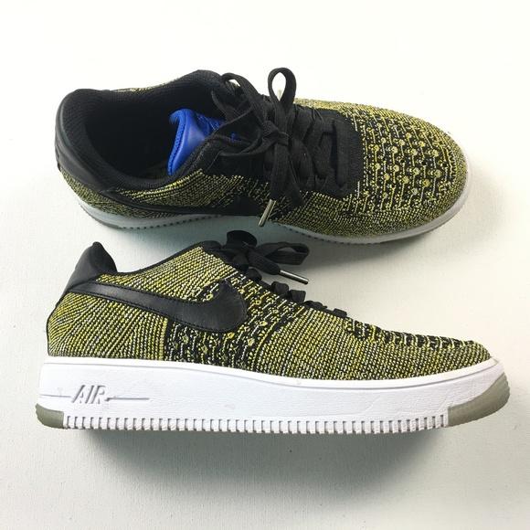 771f77b04447 Nike AF1 Air Force 1 Flyknit Low Shoes 820256-004.  M 5b9df2cd2beb79a6c9cf863b
